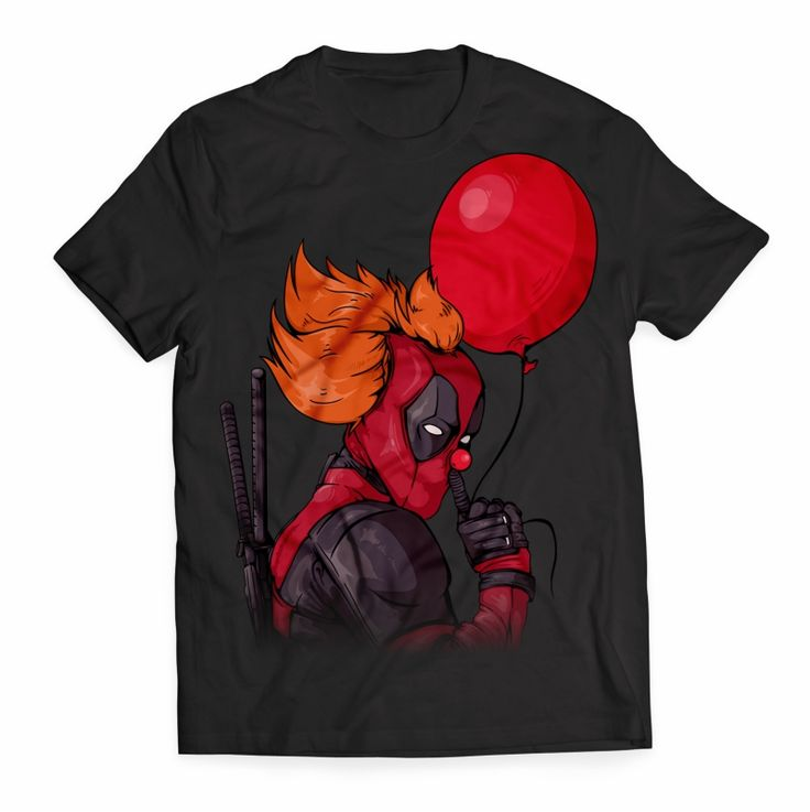 IT is Deadpool T shirt design