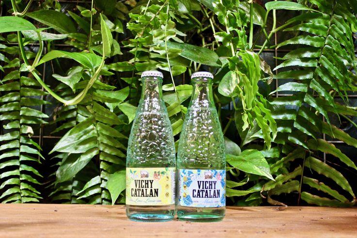 Vichy Catalan Plus Menta y Lima-Limón en botella 250 ml.