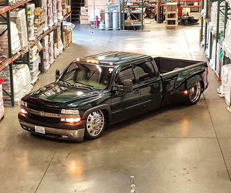 Green Chevrolet 3500