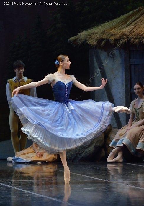 Svetlana Zakharova in Giselle at Teatro Alla Scala. Photo by Marc Haegeman