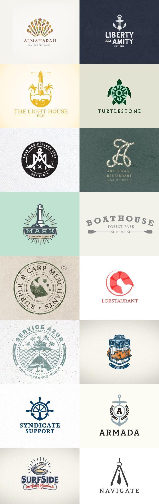 Maritime Logo-Ideen Teil 2