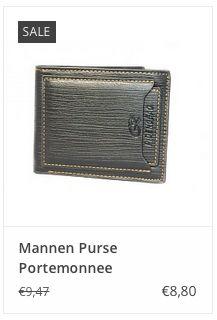 Mannen Purse Portemonnee € 8,80 www.ovstore.nl/nl/mannen-purse-portemonnee.html
