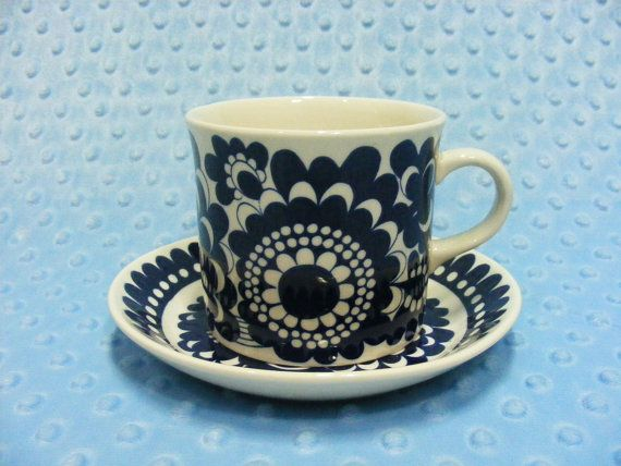 AF91 Arabia Finland 100 Year Anniversary Coffee Cup by chirostory