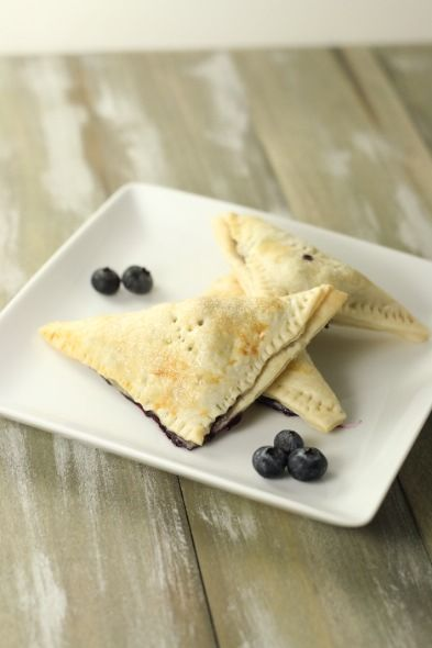 blueberry-hand-pies-7: Delicious Desserts, Food Desserts, Blueberries Recipes, Hands Made, Pies Recipes, Cream Cheese, Chee Crusts, Little Kitchens, Blueberries Hands Pies 7