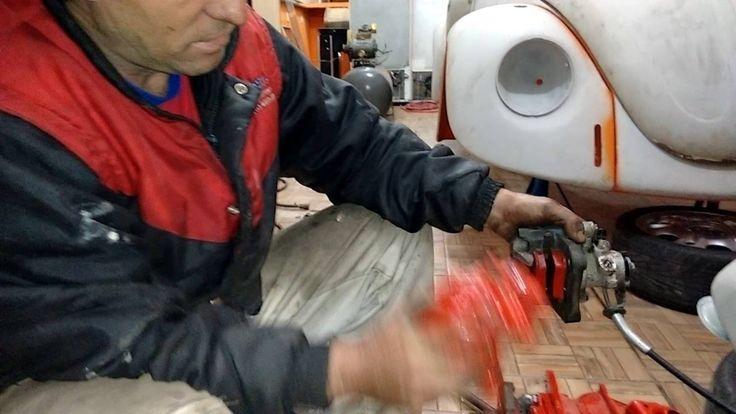 Fusca com freio a disco na traseira