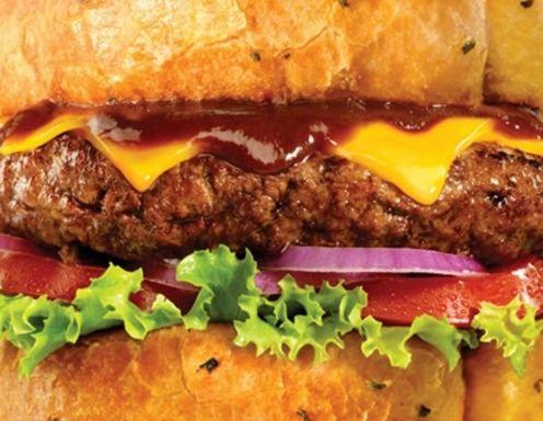 Classic Cheeseburger mit Potato Wedges Rezept