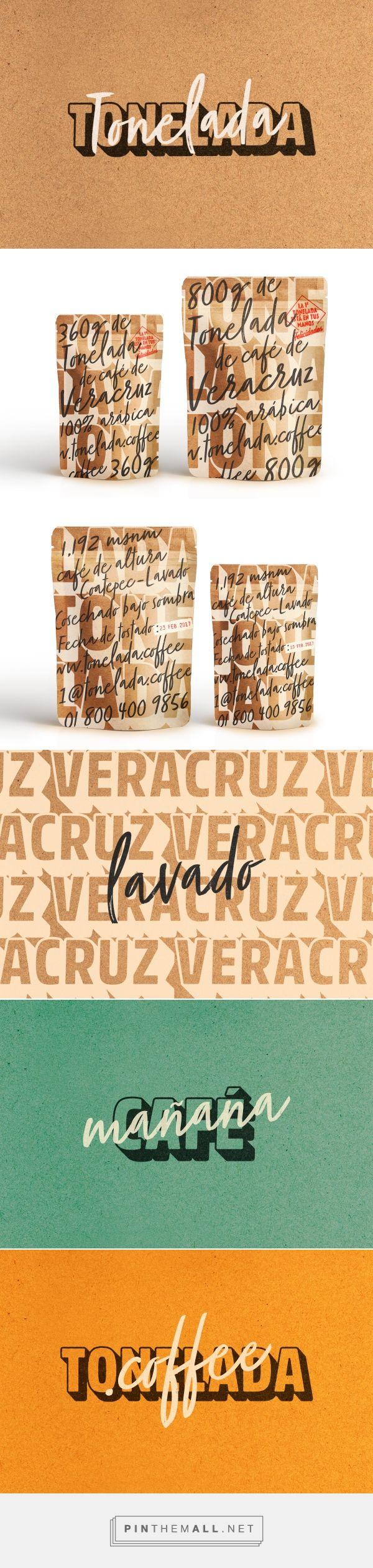Tonelada Coffee packaging design by YuJo! Creatividad Aplicada - http://www.packagingoftheworld.com/2017/03/tonelada-coffee.html