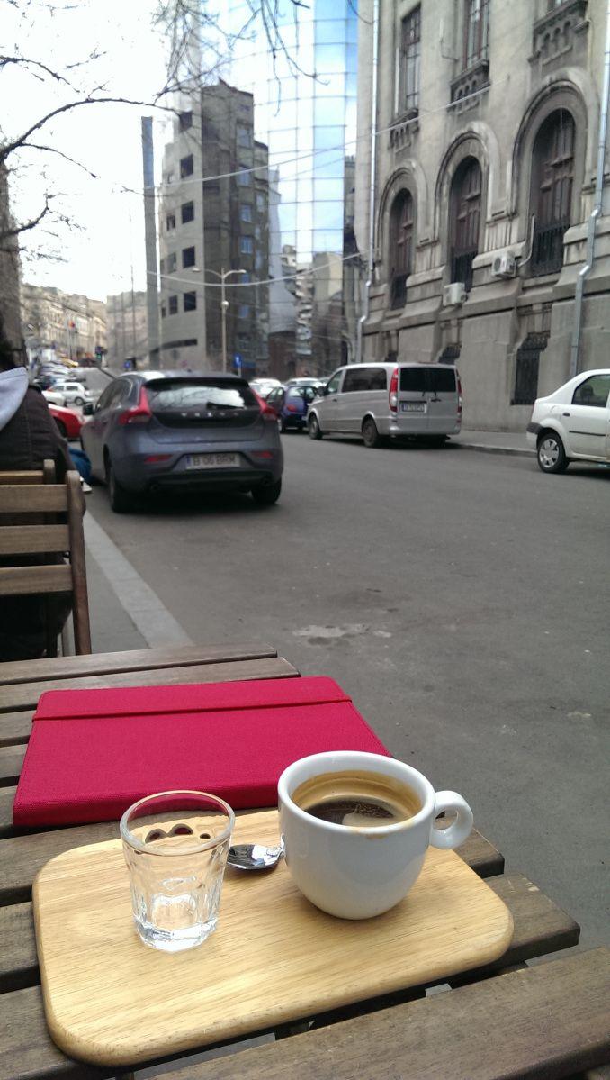 cafea.. prima cafea pe 2014 la soare..