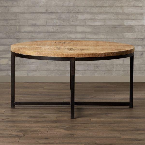 Elias Reclaimed Mango Wood Coffee Table