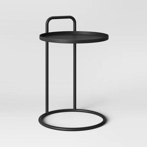 Desoto Metal Handle C Table Black Project 62 C Table Wood