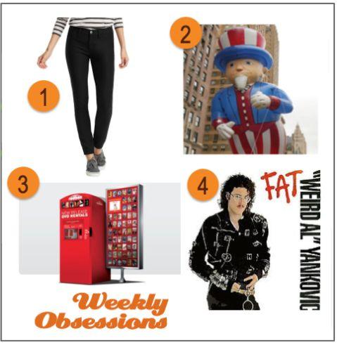 "Week 126: LOFT Knit Denim Leggings, Macy's 87th Thanksgiving Day Parade, Redbox Movies, ""Fat"" – Weird Al Yankovic"