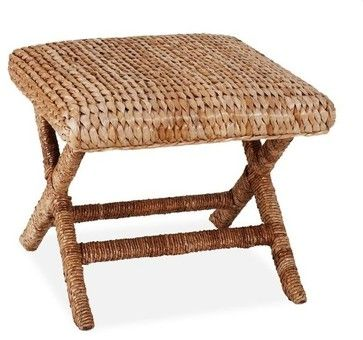 Sea Grass Stool contemporary ottomans and cubes