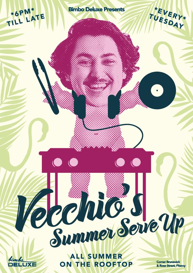 Enjoy delicious food at Bimbo Deluxe, the best rooftop bar in Melbourne with vacchio's summer serve up for all summer. Join us by 6.00 pm on every Tuesday and enjoy till late. Visit us to know more - http://www.bimbodeluxe.com.au/