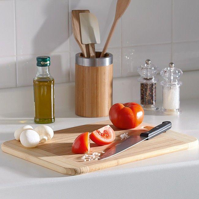 Planche A Decouper Bambou Ustensile Cuisine Planche A Decouper Cuisine