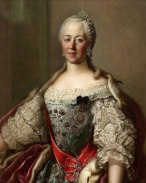 A LADY BELIEVED TO BE CATHERINE THE GREAT OF RUSSIA