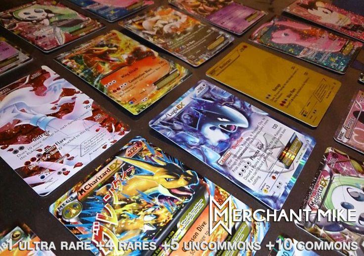 $12.99 | AMAZING POKEMON 20 Card Lot w/ One GAURANTEED Break/Full Art/EX/ or…