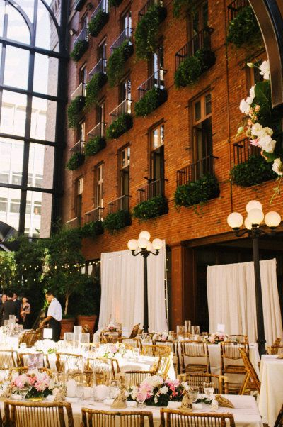 Court in the Square in Seattle.  One of the most beautiful wedding venues I've seen.