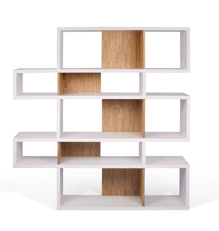 Estantería 1 pieza versátil, para toda clase de espacio interior disponible en tres tamaños: Pequeña: 100 x 156 x 34 cm Mediana: 160 x 156 x 34 cm  Grande: 220 x 156 x 34 cm