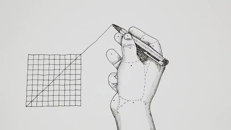 Extrapolate - Pen and Ink Illustration