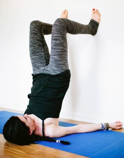 Yoga for Back Pain: Supported Shoulder Stand