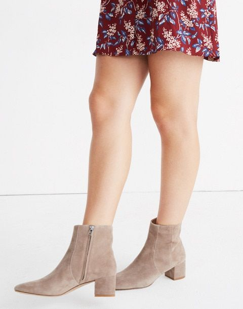 f1903585eb4 The Jada Boot in Suede | s t y l e - w o r k | Boots, Bootie boots ...