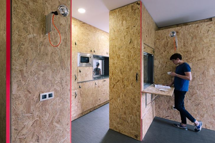 TallerDE2′s Pop-Up House reinvents the bachelor pad with modul...