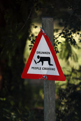 No, Not Us ... Sign seen in South Africa