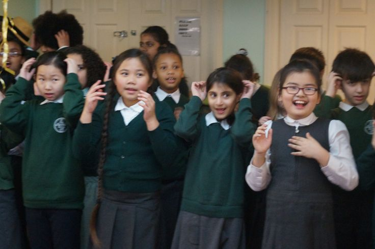 St Barnabas Primary school choir