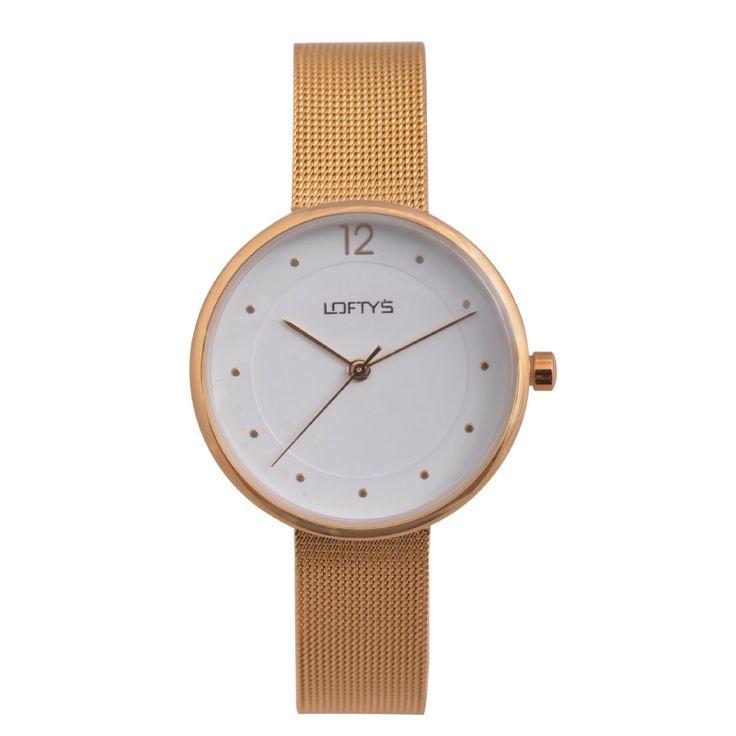 Ladies Watch with Gold Bracelet Y 2008GL - https://www.loftyswatches.com/shop/ladies-watch-with-gold-bracelet-y-2008gl/