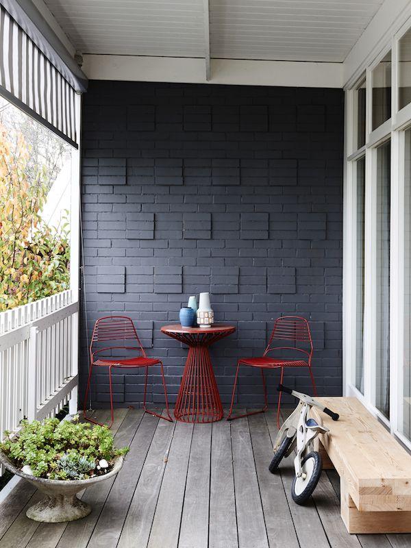 Melbourne Home I Jak+Jil outdoor setting I designed by Justin Hutchinson I Made…