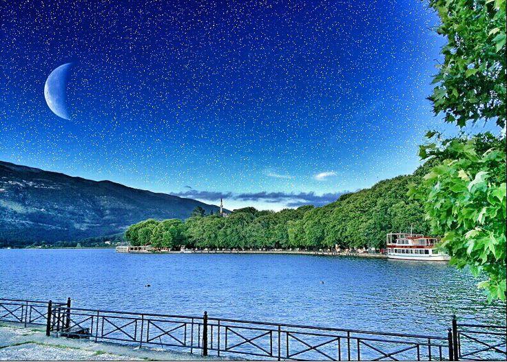 Ιωάννινα είναι η πόλη μου... και η λίμνη ειναι μυστιριώδης..