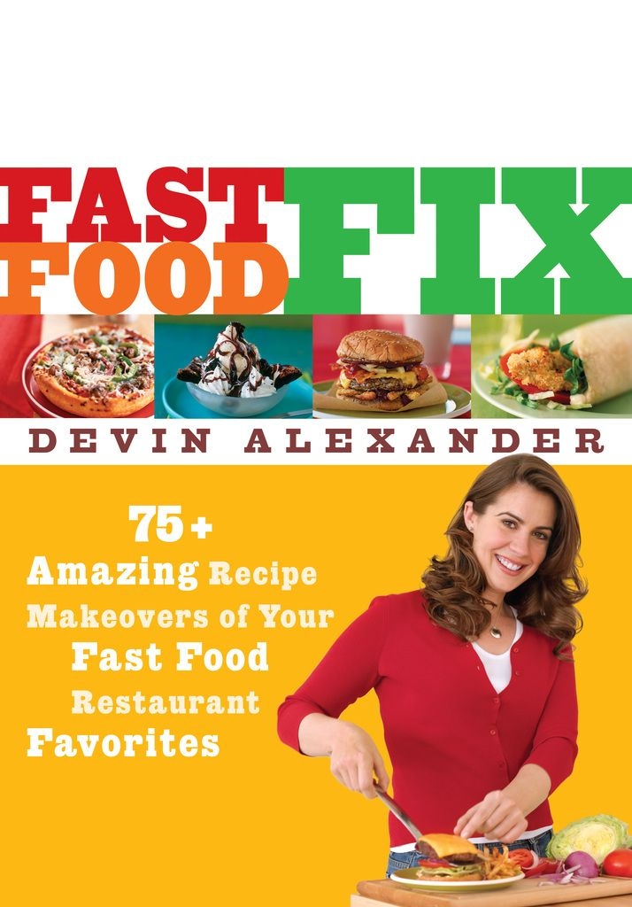"""Indulge your fast food cravings without guilt--with recipes that deliver the same great taste without putting your health at risk or inches on your hips.   Americans all want to """"eat healthy,"""" but when they yearn for the fast foods they love, what they want most are the fabulous flavors that have made them favorites in the first place. That's what makes this collection of recipe makeovers so exceptional. Los Angeles food writer, chef, and caterer Devin Alexander specializes in low-fat…"""