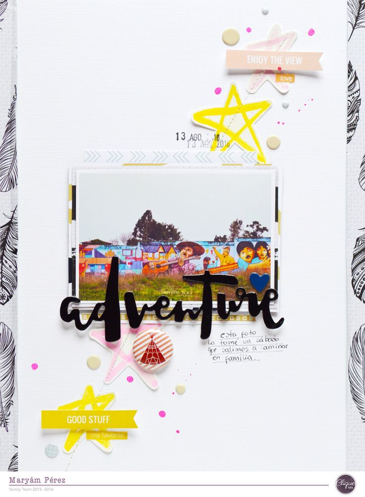 Hello Everyone! It's Maryám here and it's time to share my last layout of this…