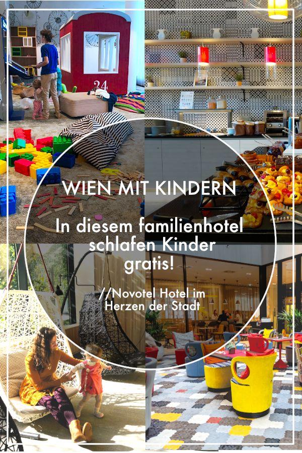 Wien mit Kindern – Hier übernachten Kinder gratis – Novotel Wien Hauptbahnhof