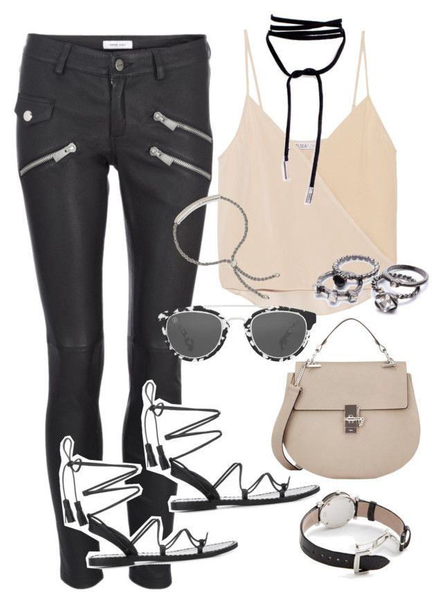 """""""Sans titre #2801"""" by christina95styles ❤ liked on Polyvore featuring Anine Bing, Chelsea Flower, Taylor Morris, Monica Vinader, Chloé and Tiffany & Co."""