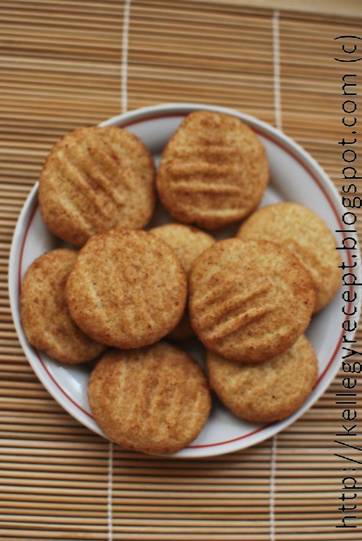 Snickerdoodle, a fahéjas keksz