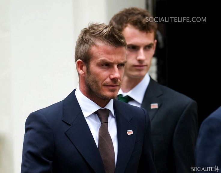 David Beckham and Andy Murray 'Malaria No More' Charity Campaign In London 12