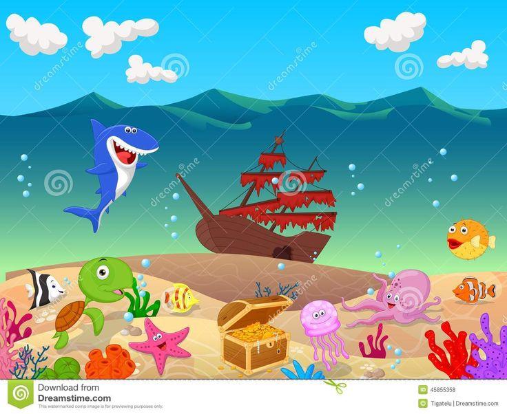 Más De 25 Ideas Increíbles Sobre Mar Animado En