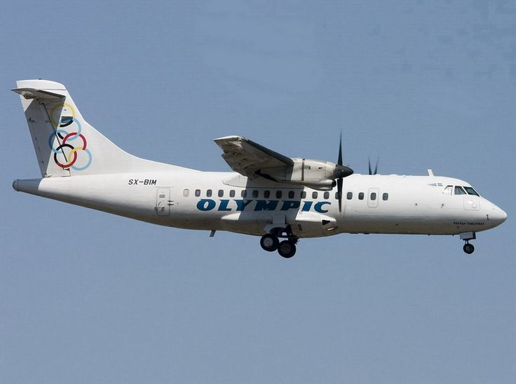 Olympic Aviation ATR-42-310 [Kostas Tsiklitiras]-[SX-BIM]