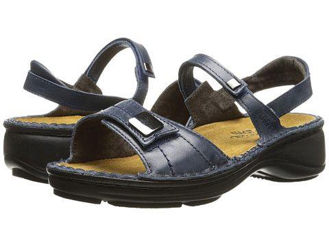 Naot Footwear Papaya (Ink Leather) Women's Sandals