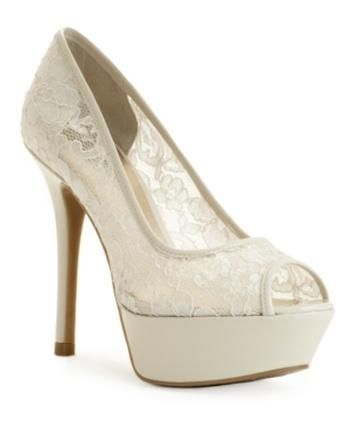 GUESS Women's Shoes, Nancille Peep Toe Platform Pumps Women's Shoes #Glimpse_by_TheFind