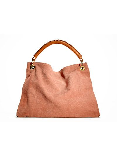 classic suede shoulder bag  the right accessories can show off confidence