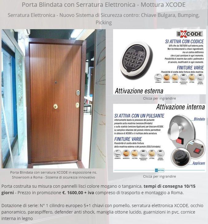 #porte   #blindate   #artigianali  con #serraturaelettronica  XCODE - #Mottura  -  scopri le novità #2015 sulla #sicurezza    http://www.mondoporte.org/offerte-del-mese