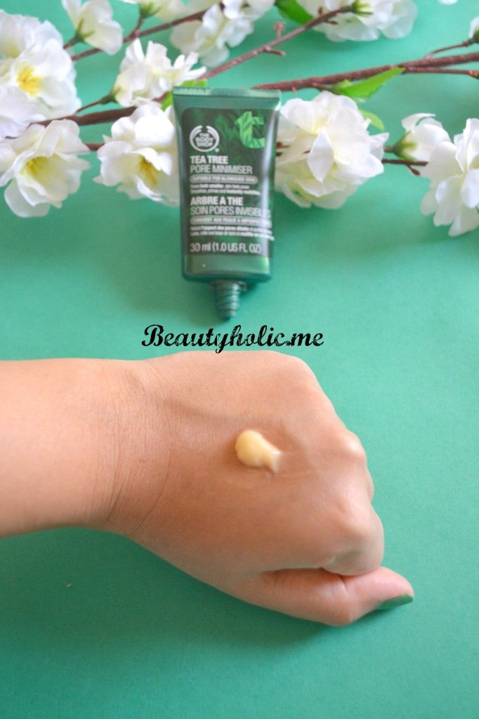 The Body Shop Tea Tree Pore Minimizer Swatch