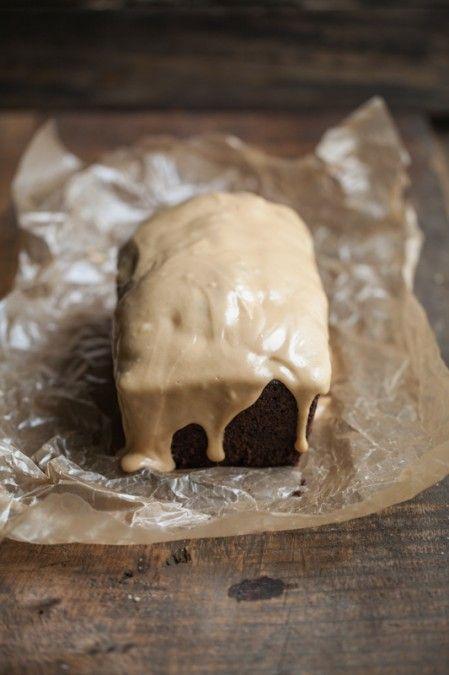 Naturally Ella | Chocolate Cake with Peanut Butter Glaze | Naturally Ella