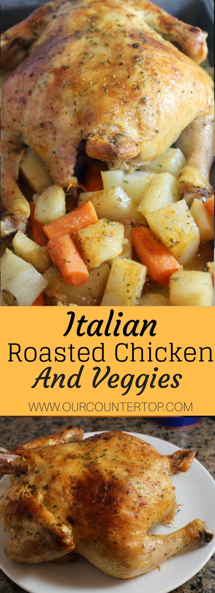 Italian Roasted Chicken & Vegetables
