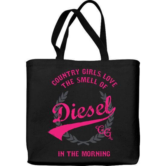 Lightweight Tote Bag - Smell of Diesel