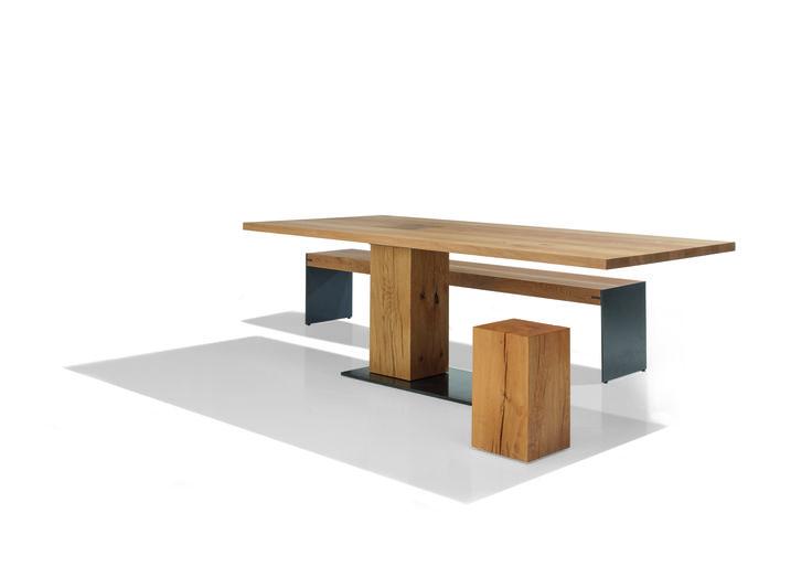 MONO rustical Sitzbank und hocker von ASCO #ASCO #MONO #rustical #MONO_rustical #Bank #Hocker #Sitzbank #Eiche #Wohndesign #Interior #Design