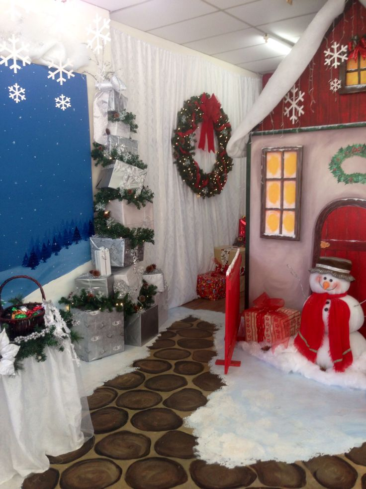 Santa grotto | Cool ideas | Pinterest
