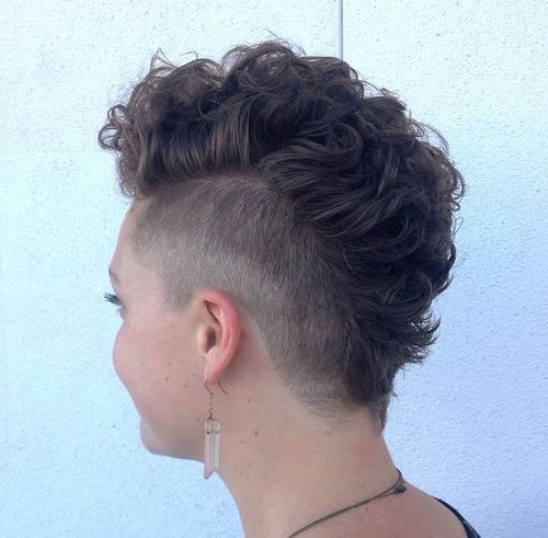 mohawk haircut for women